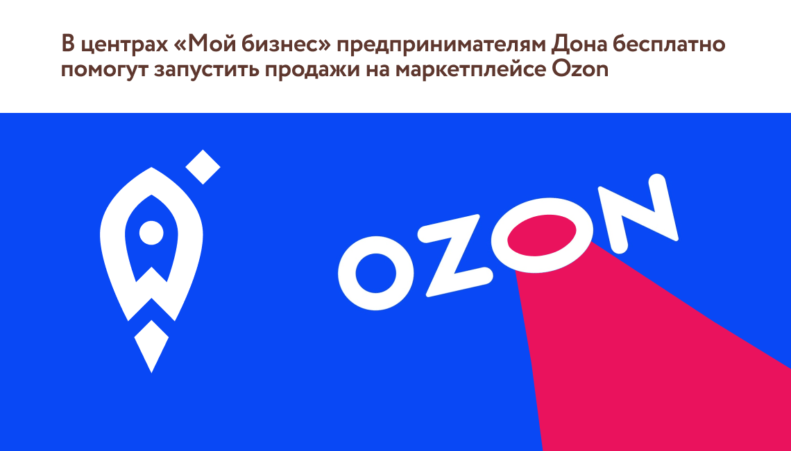 В центрах «Мой бизнес» предпринимателям Дона бесплатно помогут запустить продажи на маркетплейсе Ozon